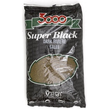 AMORCE SENSAS 3000 DARK RIVER SALEE - 1KG