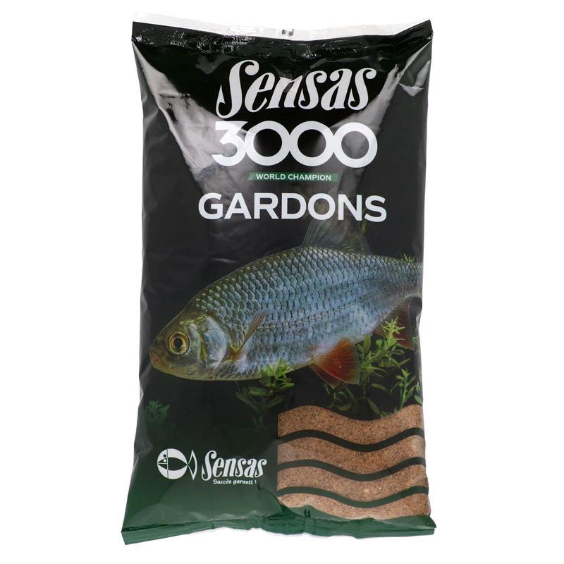Sensas 3000 tanche Amorce tanche grossiers à pêche