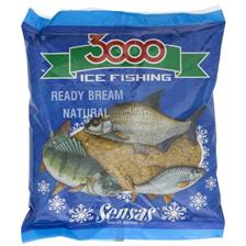 3000 ICE FISHING PELLET BREAM BLACK 400G 01102