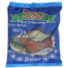 3000 ICE FISHING READY BREAM RED 500G 01042