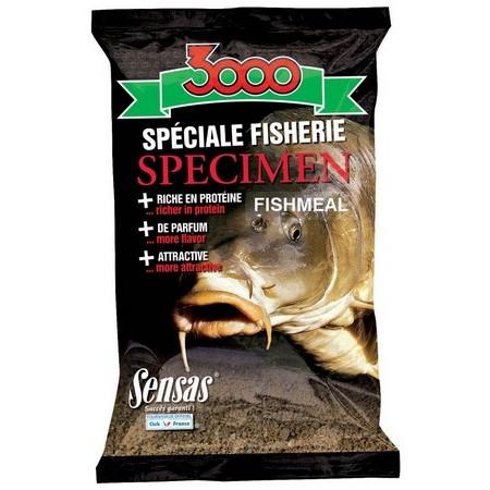 AMORCE SENSAS 3000 SPECIMEN SPECIAL FISHERIE FISH MEAL