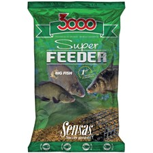 Baits & Additives Sensas 3000 SUPER FEEDER BIG FISH 1 KG