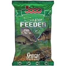 Baits & Additives Sensas 3000 SUPER FEEDER ETANG 1 KG