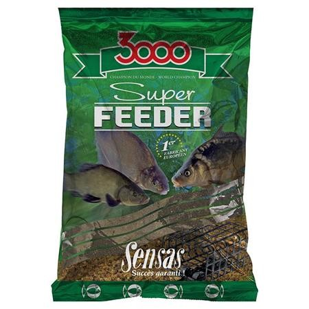 AMORCE SENSAS 3000 SUPER FEEDER RIVER BLACK