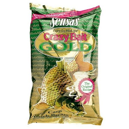 AMORCE SENSAS CRAZY BAIT GREEN GOLD