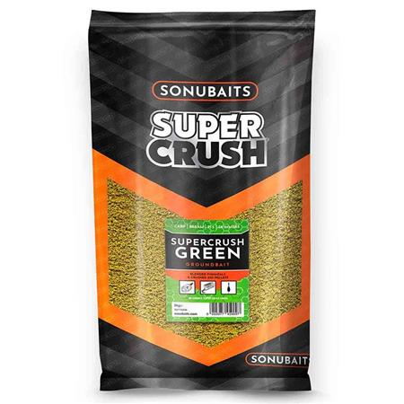 AMORCE SONUBAITS SUPERCRUSH GREEN