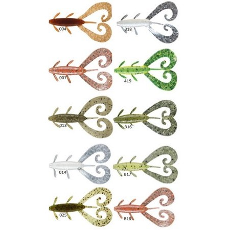 AMOSTRA VINIL REINS G TAIL TWIN 7.5CM - PACK