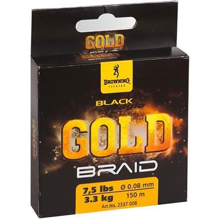 ANGELSCHNUR GEFLOCHTEN BROWNING BLACK MAGIC GOLD