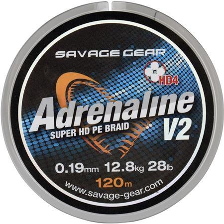 ANGELSCHNUR GEFLOCHTEN SAVAGE GEAR HD4 ADRENALINE V2
