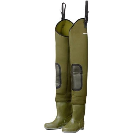 ANGLERSTIEFEL DAM FIGHTER PRO+ NEOPRENE HIP WADERS