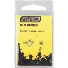 Tying Mad RIG RINGS ROUND 1.5MM