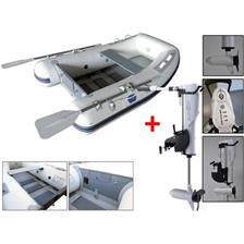Embarcations DBI 200W + MOTEUR ELECTRIQUE HASWING COMAX 55 LBS ANNEXE 200W + MOTEUR COMAX 55LBS