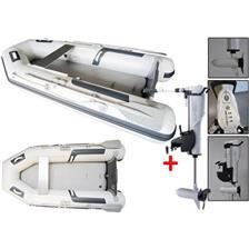 ANNEXE GONFLABLE DBI 250L + MOTEUR ELECTRIQUE HASWING COMAX 55 LBS