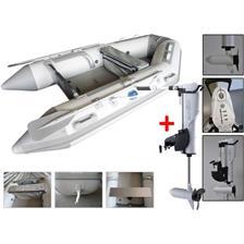Embarcations DBI 270C BLANC + MOTEUR ELECTRIQUE HASWING COMAX 55 LBS ANNEXE 270C + MOTEUR COMAX 55LBS