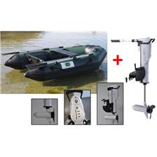 Embarcations DBI 270C FISHING VERT + MOTEUR ELECTRIQUE HASWING COMAX 55 LBS ANNEXE 270C FISH + MOTEUR COMAX 55LBS