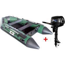 Embarcations DBI 300C FISHING VERT + MOTEUR THERMIQUE PARSON F5BMS 5CV ANNEXE 300C FISH + MOTEUR F5BMS (5CV)