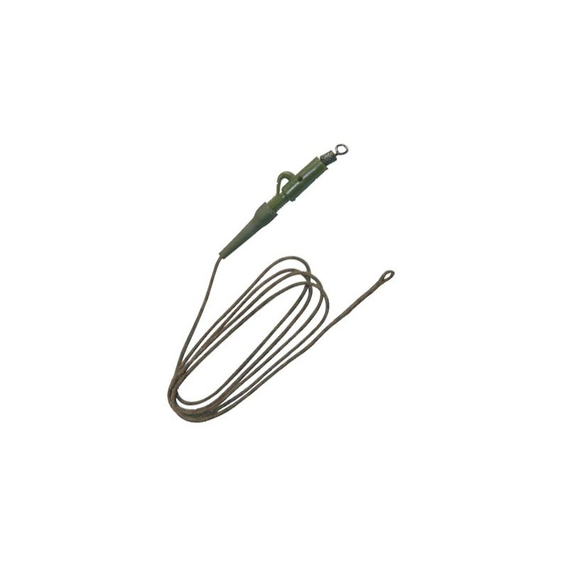 Anti tangle technipeche furtive lead core with lead holder for Lead core fishing line