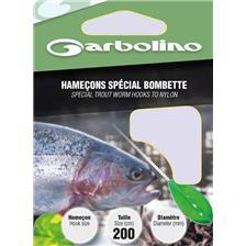 ANZOL EMPATADO GARBOLINO ESPECIAL BOMBETTE - PACK DE 10