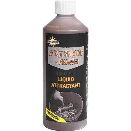 ATTRACTANT LIQUIDE DYNAMITE BAITS LIQUID SPICY SHRIMP & PRAWN