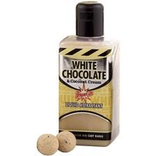 Baits & Additives Dynamite Baits WHITE CHOCOLATE & COCONUT CREAM ATTRACTANT LIQUIDE FLACON DE 250ML