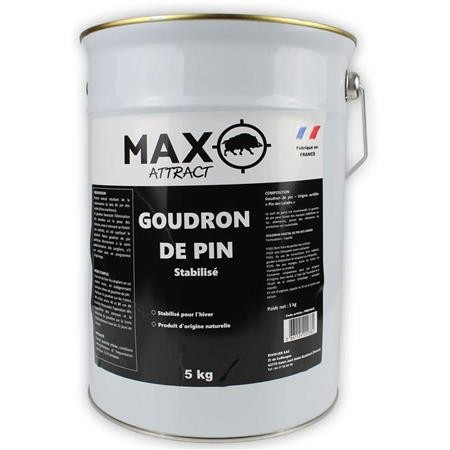 ATTRACTIF SANGLIER NATURAMAX MAX ATTRACT GOUDRON DE PIN SEAU - 5KG