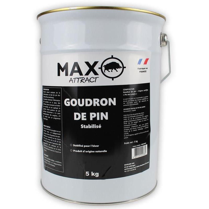 Attractif sanglier naturamax max attract goudron de pin - Goudron de pin ...
