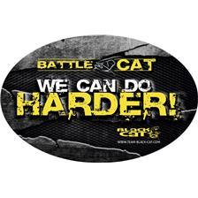 AUFKLEBER BLACK CAT BATTLE CAT