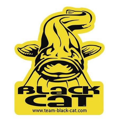 AUFKLEBER BLACK CAT CATFISH