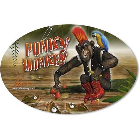 AUFKLEBER RADICAL PUNKY MONKEY