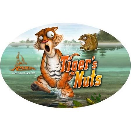 AUFKLEBER RADICAL TIGER'S NUTS