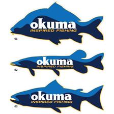AUTOCOLLANT OKUMA FLOOR STICKER