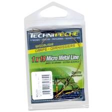 Leaders Technipêche MICRO METAL LINE SUR HAMECON TRIPLE TAILLE 4 5KG