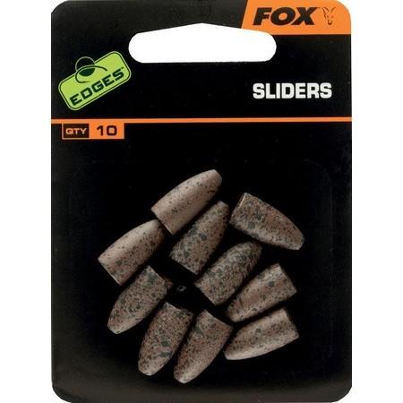 BACK LEAD FOX SLIDERS GLEITEND - 50ER PACK