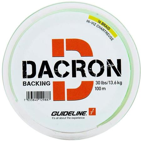 BACKING GUIDELINE BRAIDED BACKING DACRON