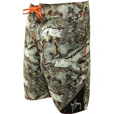 BADESHORT HERREN GUY HARVEY SUBLIMEE STRIKE TARNFARBE - Taille 40