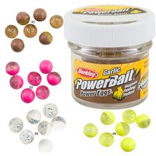 BAIT BERKLEY POWERBAIT FLOATING EGGS GARLIC - PACK OF 40