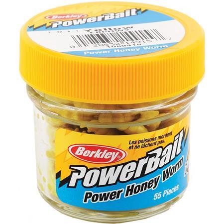 BAIT BERKLEY POWERBAIT HONEY WORM - PACK OF 55