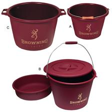 BAIT BOX AND FLEXIBLE LID BROWNING