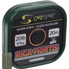 BAJO DE LÍNEA RÍGIDO CARP SPIRIT RIGA MORTIS GREEN - 20M
