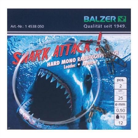 BAS DE LIGNE AVEC EMERILLON BALZER HARDMONO SHARK ATTACK