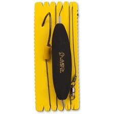 BAS DE LIGNE BLACK CAT U-FLOAT HAMECON SIMPLE