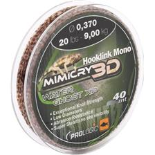 BAS DE LIGNE CARPE PROLOGIC HOOKLINK MONO MIMICRY MIRAGE XP