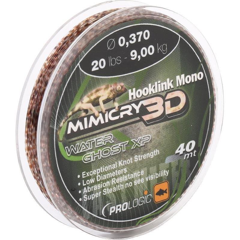 Bas de ligne carpe prologic hooklink mono mimicry mirage xp for Achat de carpe