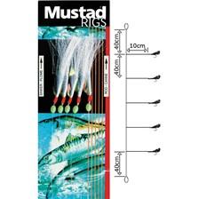 Lines Mustad SABIKIS T60 AVEC LUREFLASH N°1/0