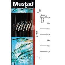 Lines Mustad T88 PEAUX DE POISSONS N°6