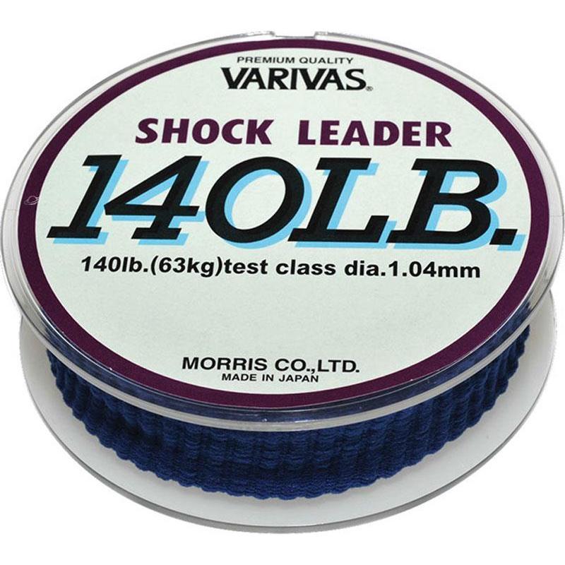 BAS DE LIGNE MER VARIVAS SHOCK LEADER - 50M -  VAR-SHOCK90