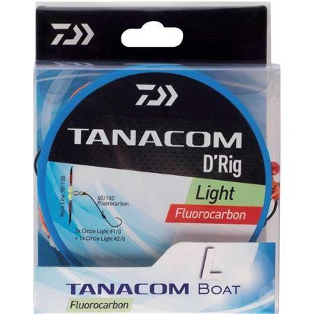 BAS DE LIGNE MONTE DAIWA TANACOM PECHE PROFONDE LIGHT