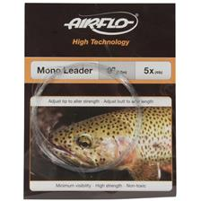 Leaders Airflo CLEAR TAPERED MONO LEADER 6X 12LBS