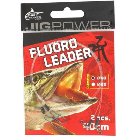BAS DE LIGNE POWERLINE FLUORO LEADER