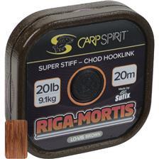 BAS DE LIGNE RIGIDE CARP SPIRIT RIGA MORTIS BROWN - 20M
